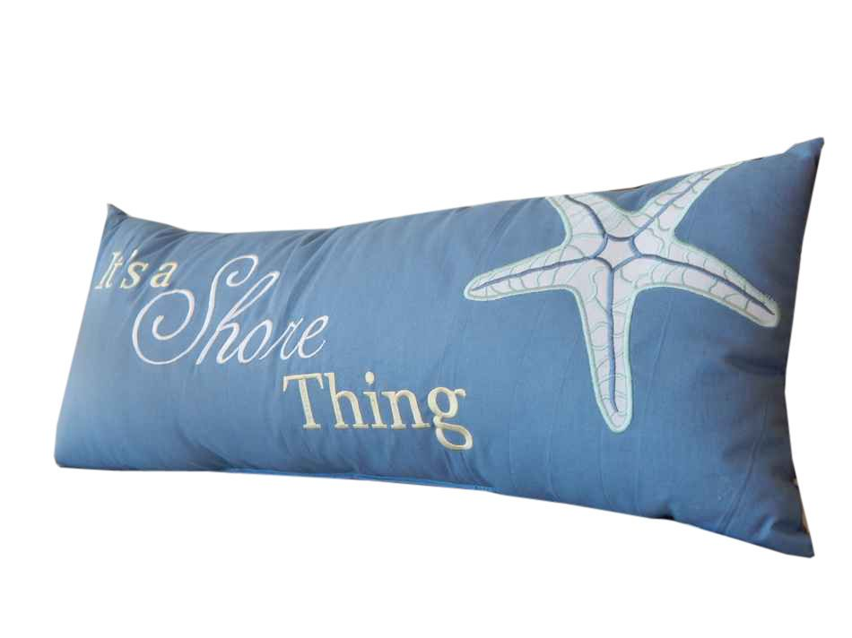 Handcrafted Beach Decor Its A S Thing Decorative Throw Pillow 20