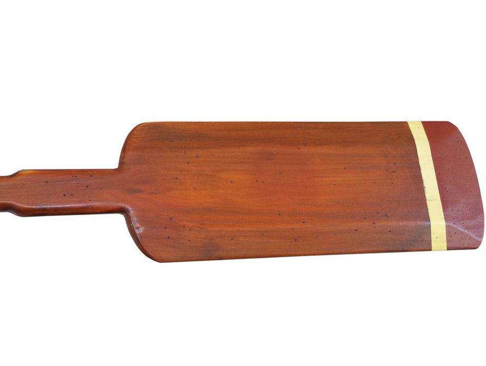 Wood Paddle Wall Decor : Buy wooden dana point squared rowing oar w hooks