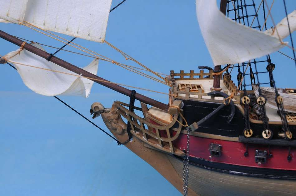 Buy Captain Kidd S Black Falcon Limited Model Pirate Ship