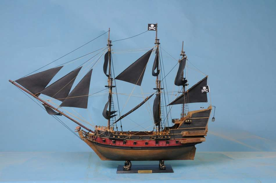 Lobster Boats For Sale >> Buy Captain Kidd's Black Falcon Limited Model Pirate Ship ...