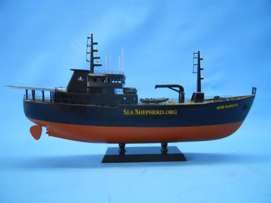 Model of the Bob Barker of Sea Shepherd