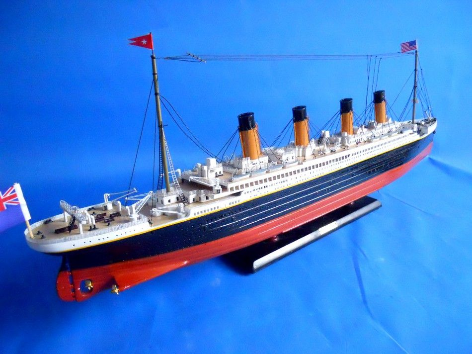 Lobster Boats For Sale >> Buy RMS Britannic Limited 30in Model Cruise Ship - Model Ships