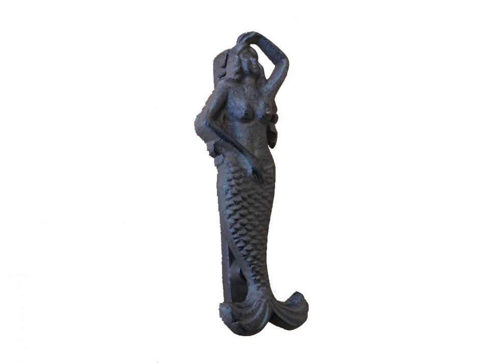 Cast iron mermaid door knocker 7 - Mermaid door knocker ...