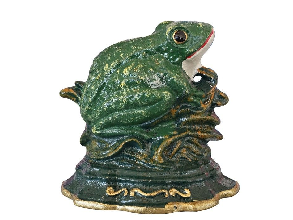 Buy Cast Iron Frog Door Stop 4 Inch Nautical Accessories