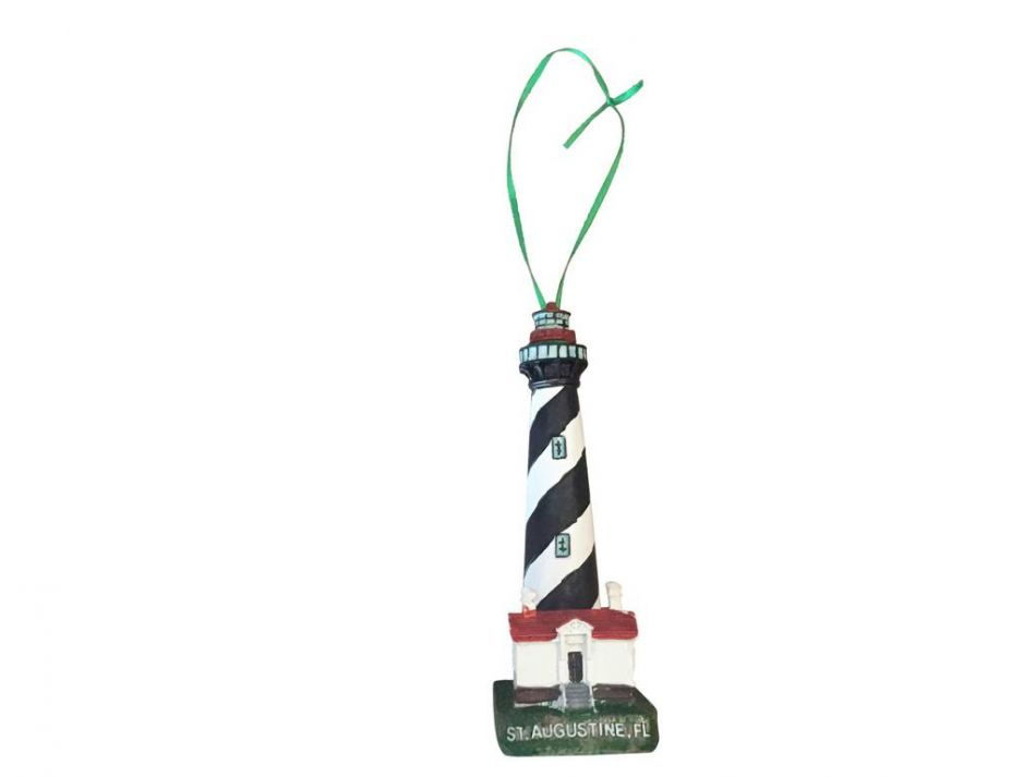 Buy St. Augustine Lighthouse Christmas Tree Ornament 7in