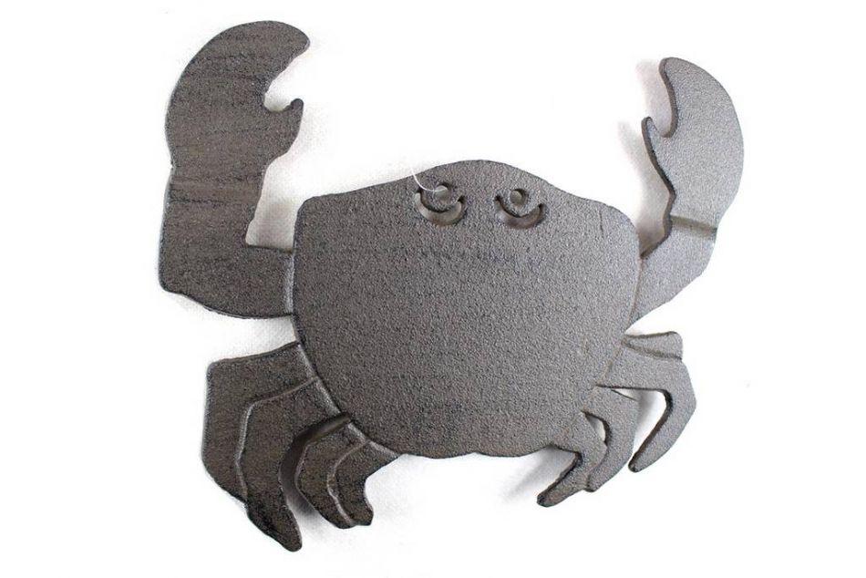 buy cast iron crab trivet 11 inch wholesale sea decor decorating ideas contemporary blue crab wall paint