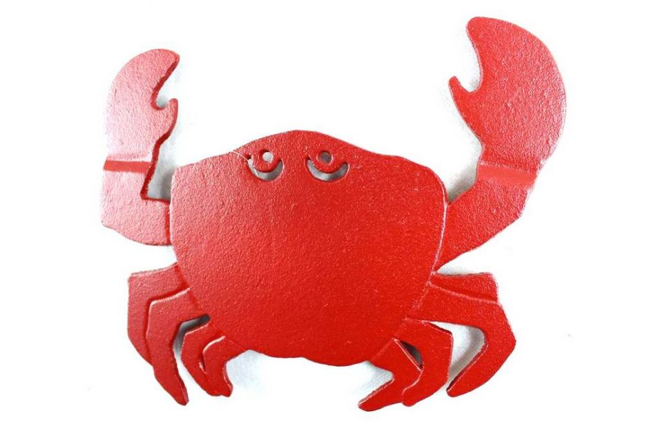 wholesale rustic red cast iron crab trivet 11 quot model ship pin by theresa carr on beach ideas amp stuff pinterest
