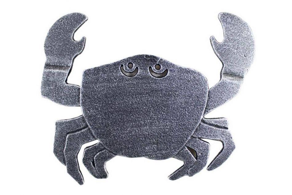 buy antique silver cast iron crab trivet 11 inch sea buy cast iron crab trivet 11 inch wholesale sea decor