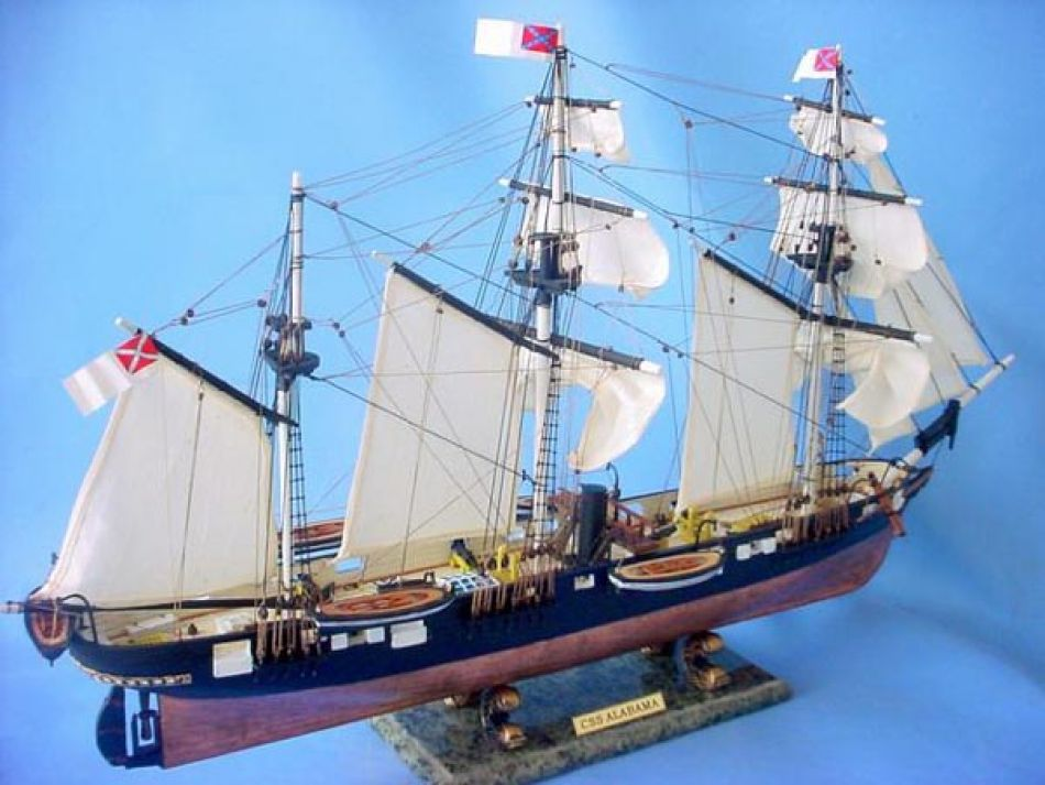 Buy Css Alabama Limited 32in Model Ships