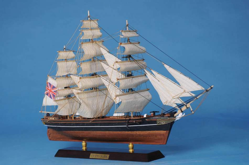 Lobster Boats For Sale >> Buy Wooden Cutty Sark Limited Tall Model Clipper Ship 20in ...
