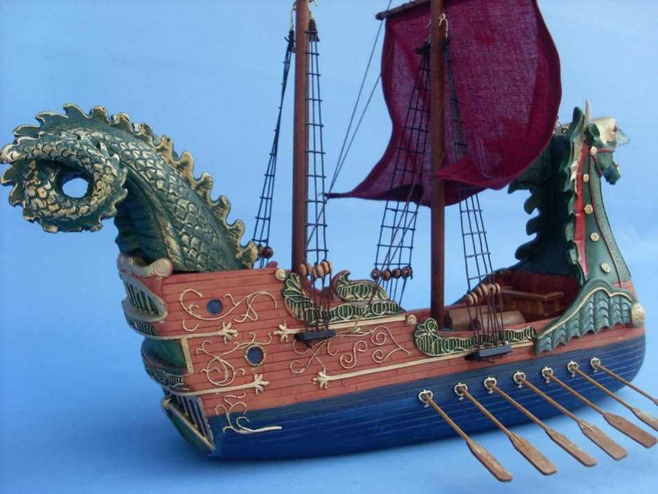 Lobster Boats For Sale >> Buy Dawn Treader Model Ship 16in - Model Ships