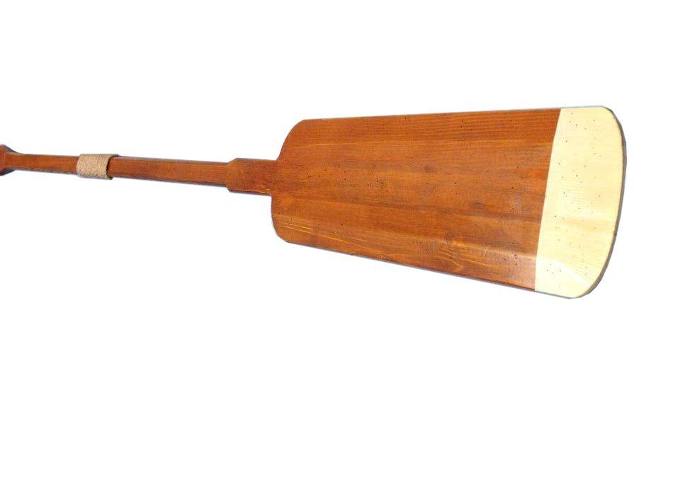 Buy Wooden Hamilton Squared Decorative Rowing Boat Oar w ...  Oar Paddle