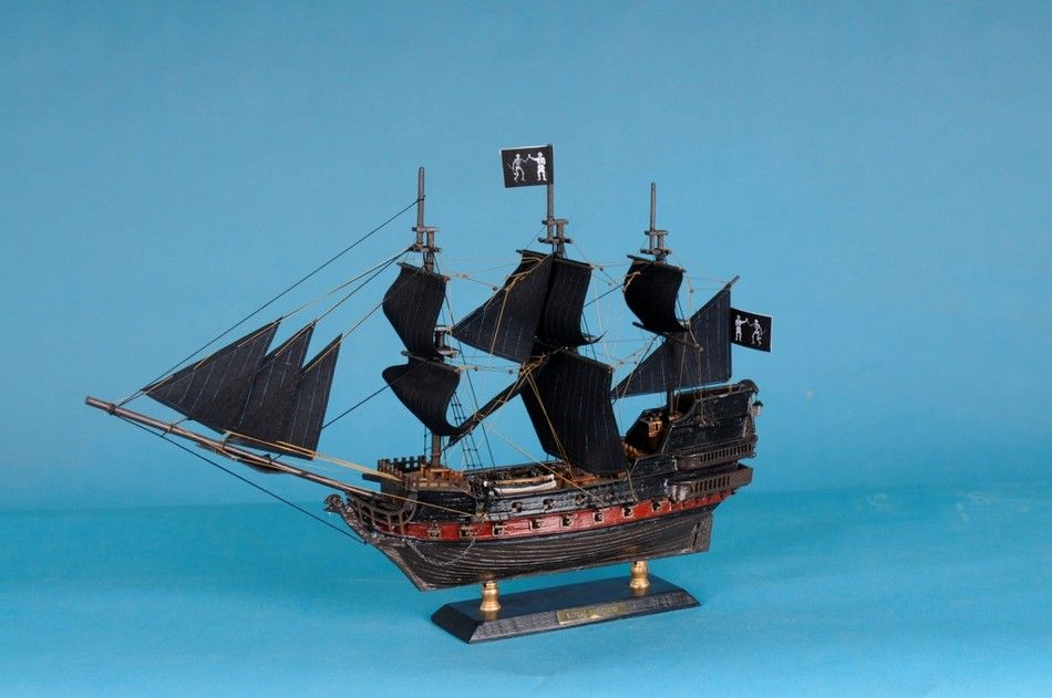 Buy Black Bart S Royal Fortune Limited Model Pirate Ship