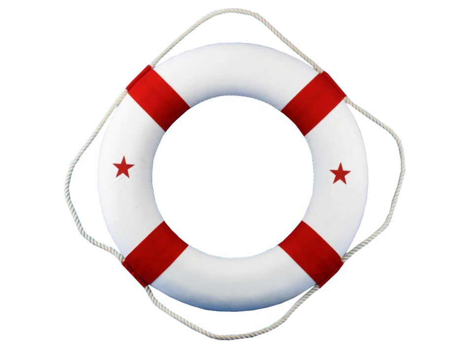 How To Make A Life Preserver Ring Decoration