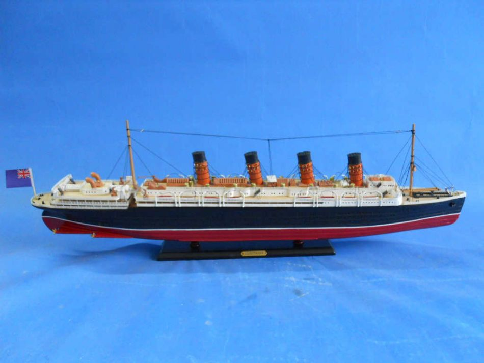 Buy Rms Lusitania Limited Model Cruise Ship 30in Model Ships