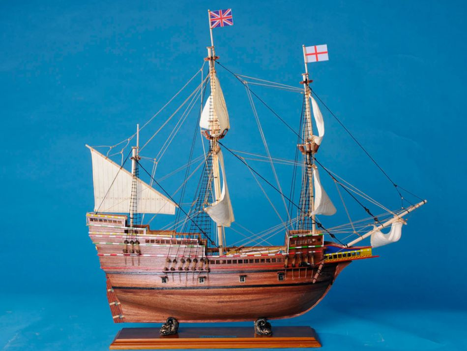 Lobster Boats For Sale >> Buy Mayflower Limited Model Ship 30in - Model Ships
