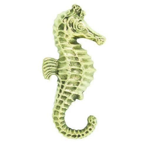 Buy solid brass seahorse door knocker 7 inch sea decorations - Seahorse door knocker ...