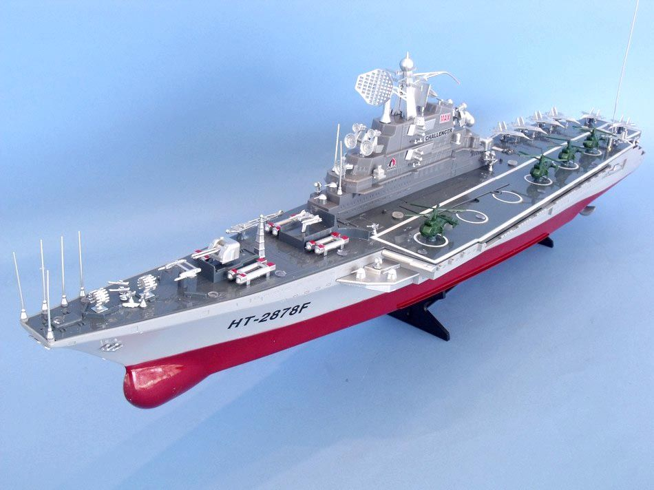 Buy Ready To Run Challenger Remote Control Model Warship