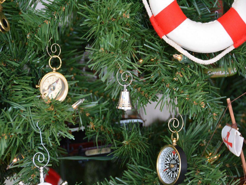 Bulk Christmas Ornament: Wholesale Chrome Bell Christmas Tree Ornament