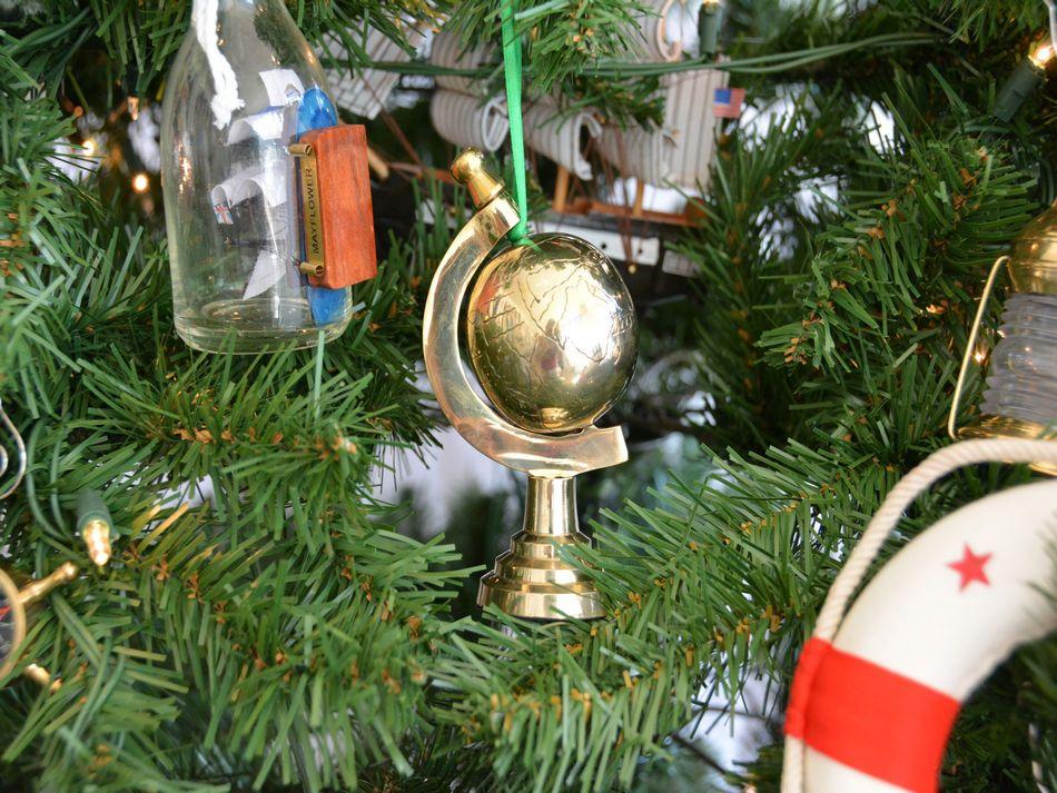 Bulk Christmas Ornament: Buy Brass World Globe Christmas Tree Ornament