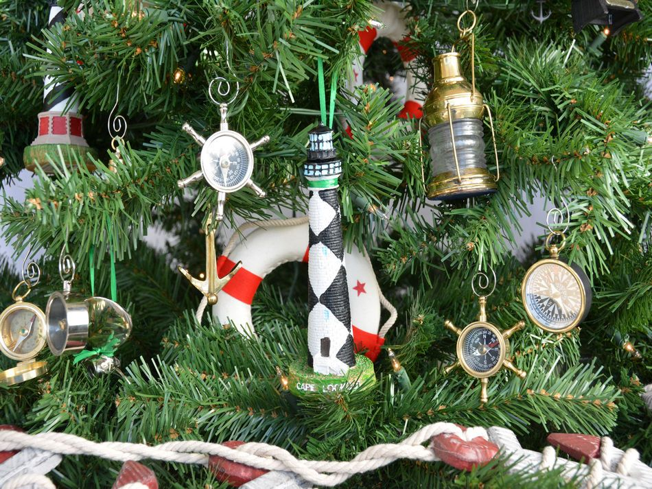 Wholesale Cape Lookout Lighthouse Christmas Tree Ornament