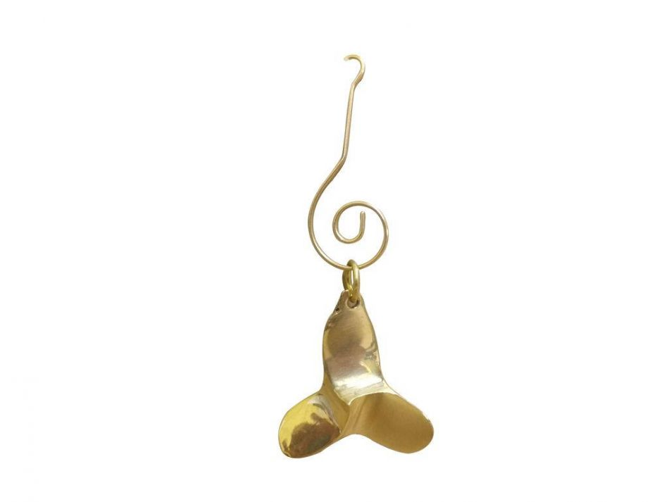 Buy solid brass decorative titanic propeller christmas