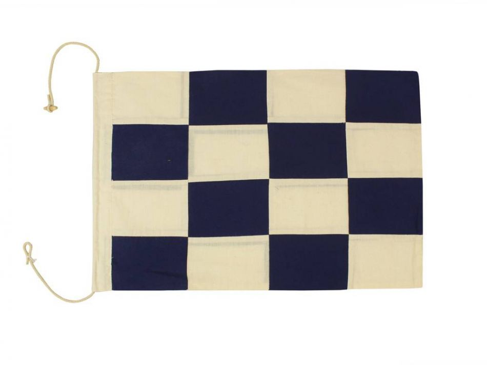 Buy letter n cloth nautical alphabet flag decoration 20 for Letter n decorations