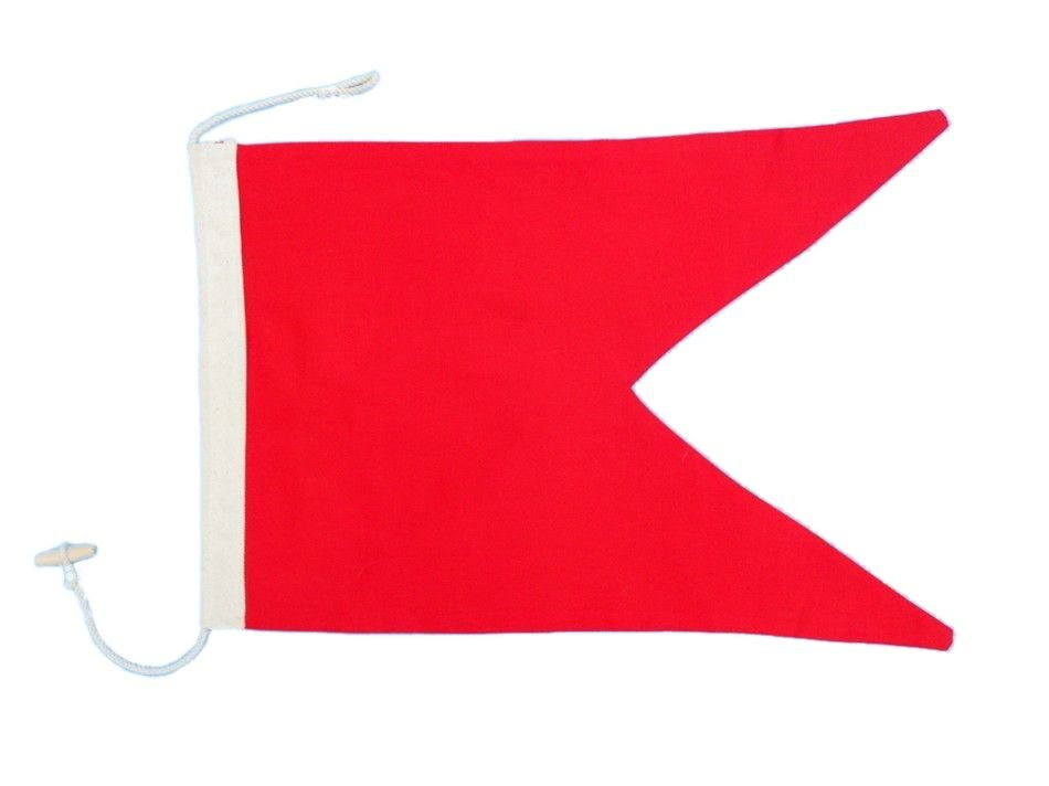 Nautical alphabet flag 20 quot decorative nautical theme flag ebay