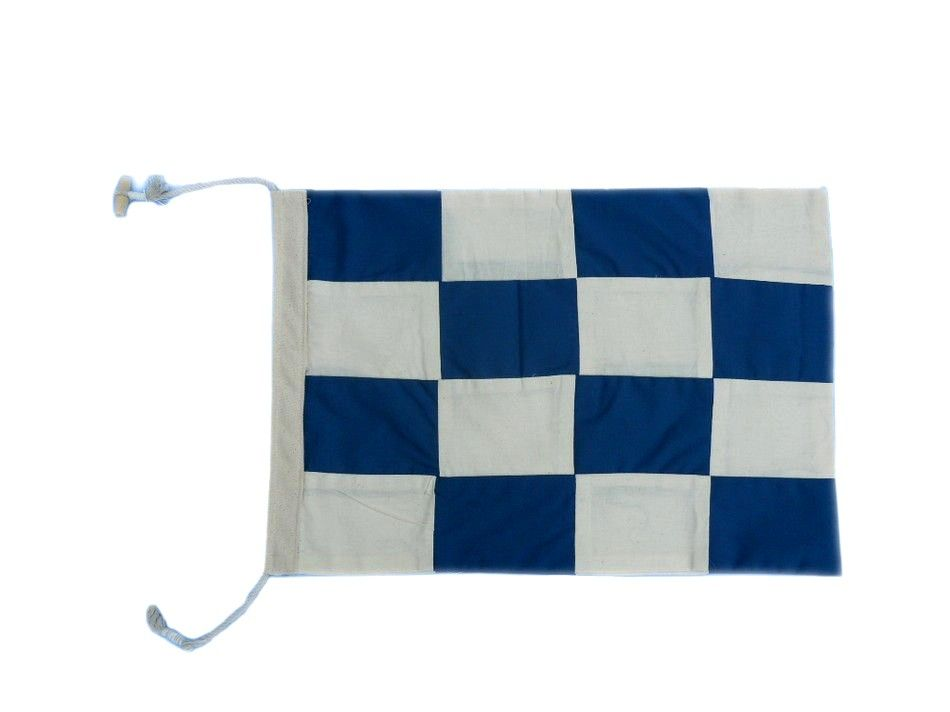 Cloth nautical alphabet flag 20 quot beach decor decorative flag ebay