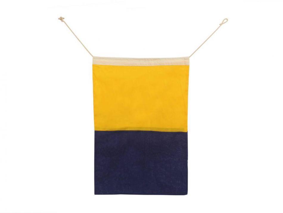 Buy letter k cloth nautical alphabet flag decoration 20 for Letter k decoration
