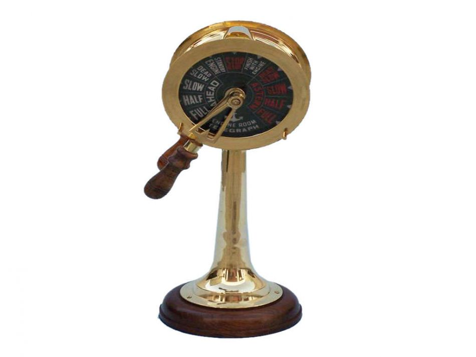 nautical home decor gifts buy brass titanic engine room telegraph 18 inch sea 11674