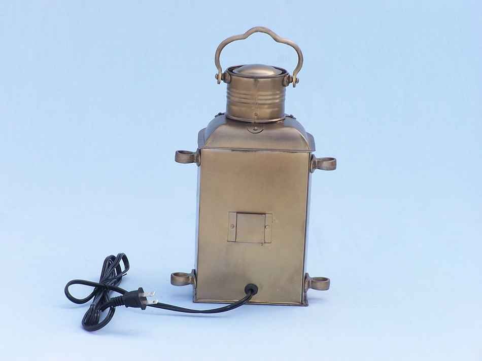 Buy Antique Brass Masthead Electric Lamp 14in Model Ships