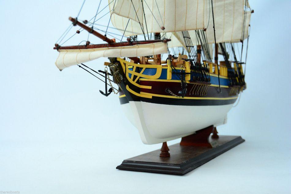 Buy Wooden Hms Bounty Limited Model Ship 37in Model Ships