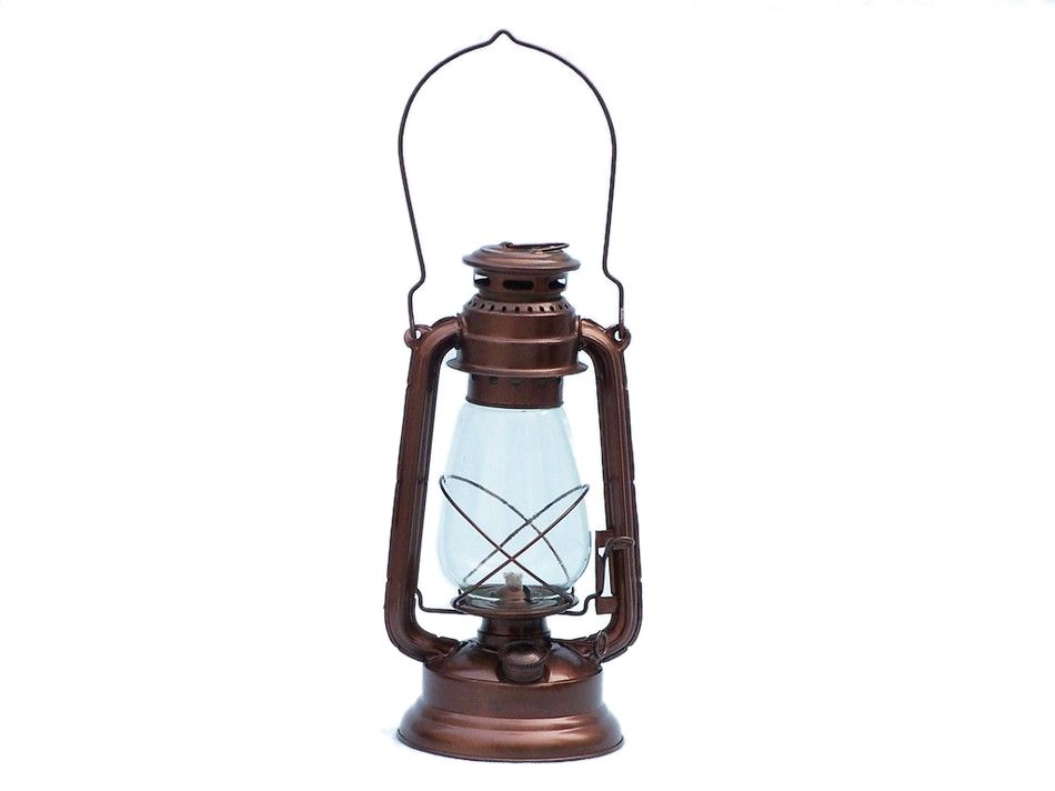 Buy Antique Copper Hurricane Oil Lantern 19 Inch ...