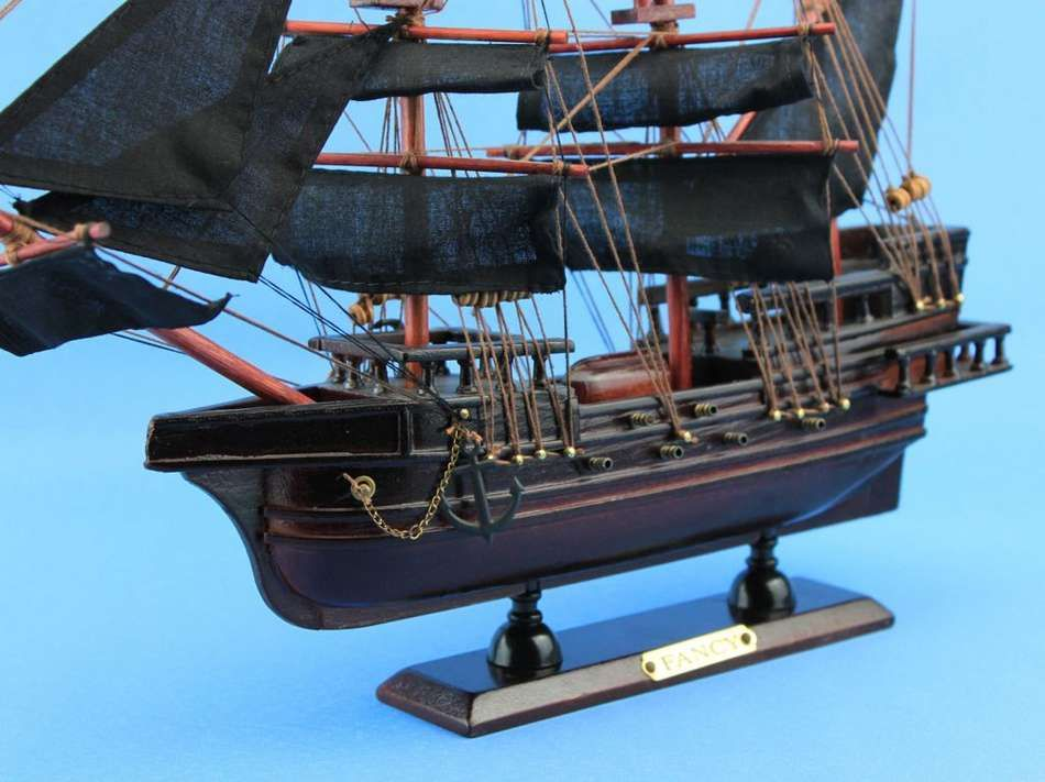 Wooden Captain Kidds Adventure Galley Model Pirate Ship 15 From Handcrafted Model Ships