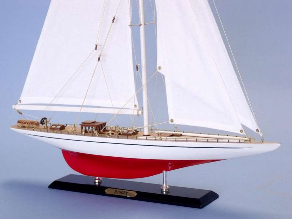 Ranger limited 26 wood sailboat model sailboat model for Decoration yacht