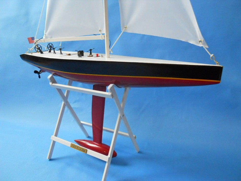 remote control sailboat for sale with Remote Control Freedom 30 Inch on Aluminum Boat Kits Wa1 also Kalle Radio Control Steam Tug Boat 1 33 Scale Aero Naut Kit besides 2015 01 01 archive as well Chinese Junk Wood Model Sailboat 8 together with Catamaran Boat Plans 6.