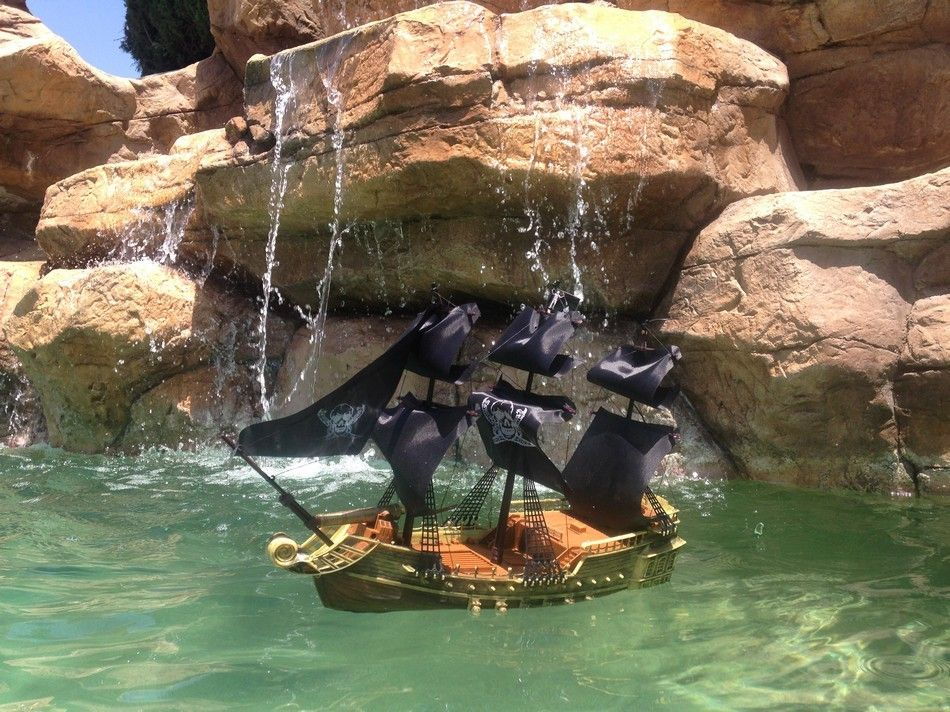 Lobster Boats For Sale >> Buy Ready To Run Remote Control Caribbean Pirate Ship 18in ...