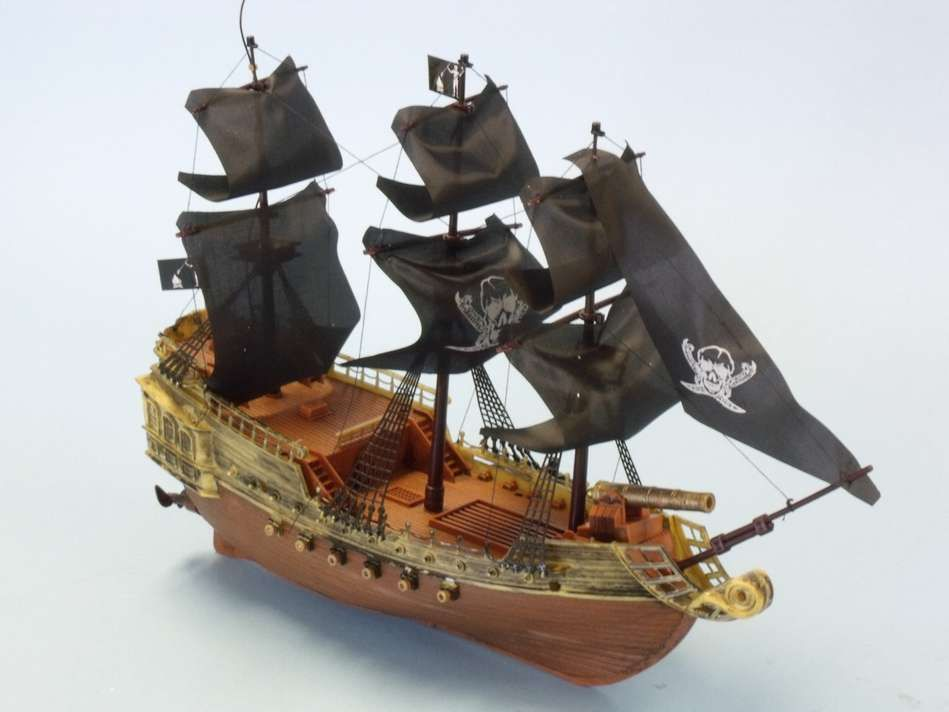 Buy Ready To Run Remote Control Caribbean Pirate Ship 18in