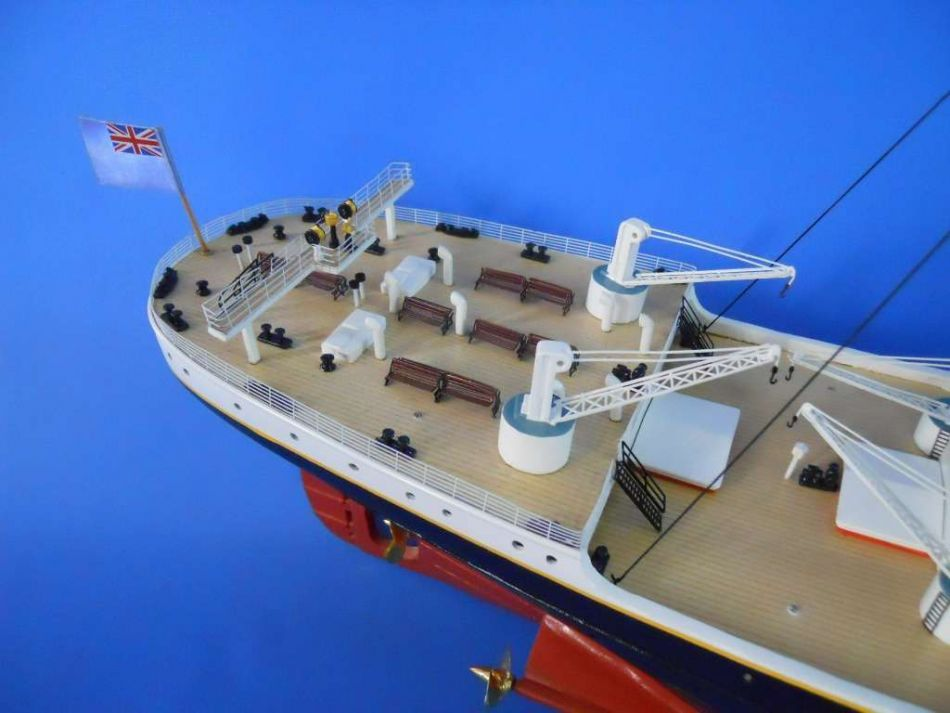 Buy Ready To Run Remote Control Rms Titanic 72in Limited W Led Lights Model Ships