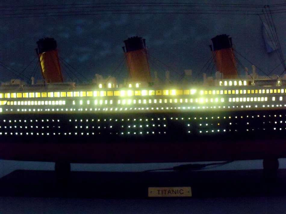 Buy Rms Titanic Limited Model Cruise Ship 40in W Led