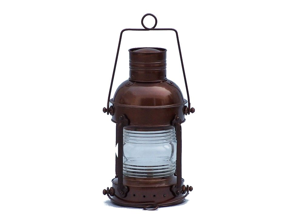 Buy Antique Copper Anchormaster Oil Lantern 15 Inch ...