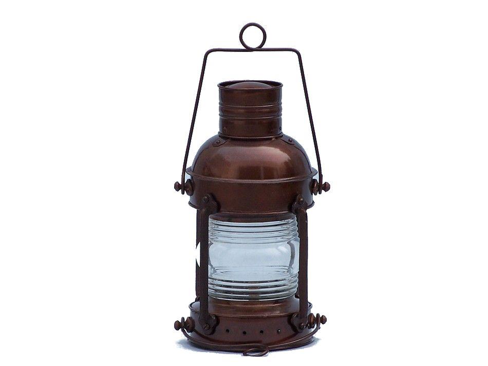 Buy Antique Copper Anchormaster Oil Lantern 15 Inch ...