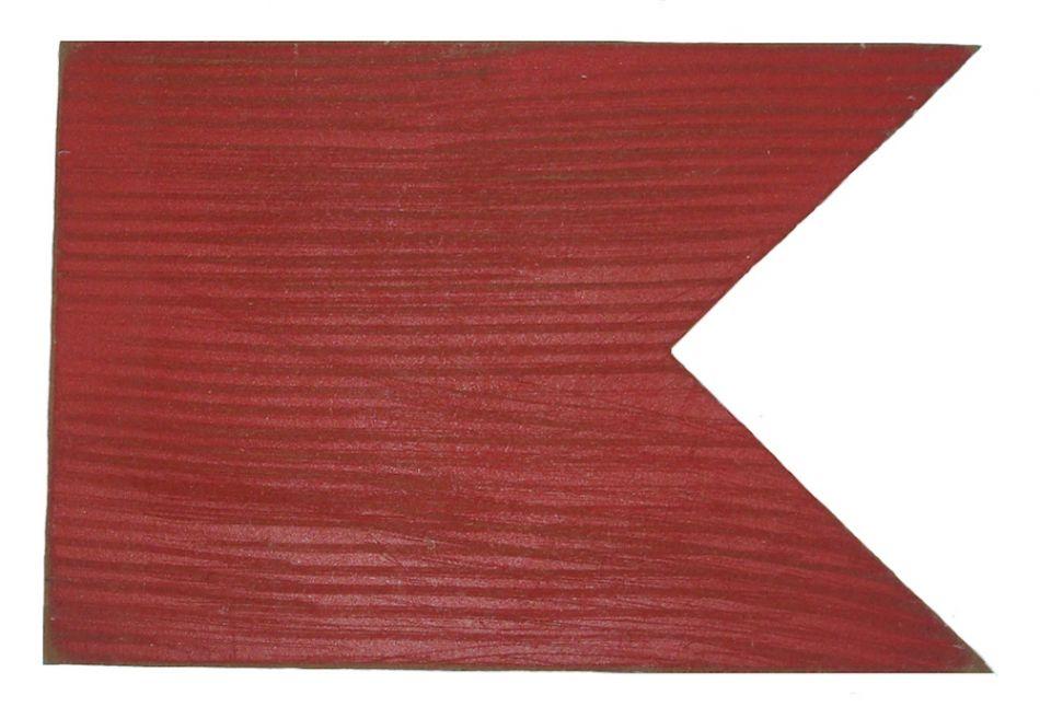 Buy Letter B Rustic Wooden Nautical Alphabet Flag