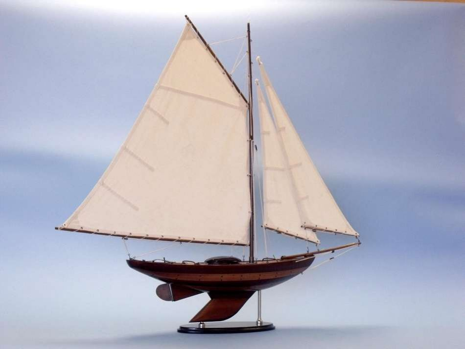 Buy Wooden Old Ironsides Sloop Decoration 26in Model Ships