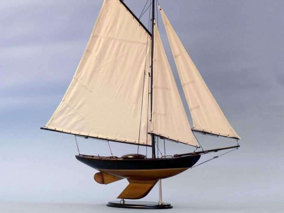 Old Ironsides Sloop 26 Inch Model Sailboat Yacht Models Model Boats Wooden