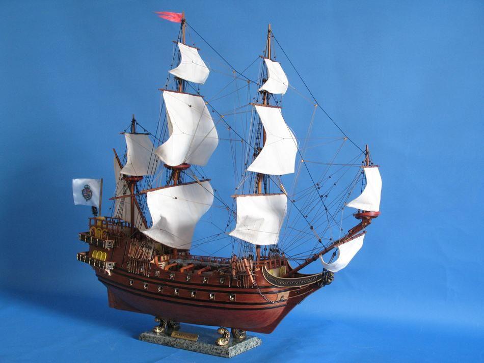 Buy Spanish Galleon 30in Model Ships