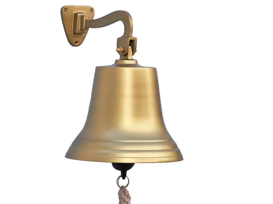 Buy Antique Brass Hanging Ship S Bell 15 Inch Wholesale