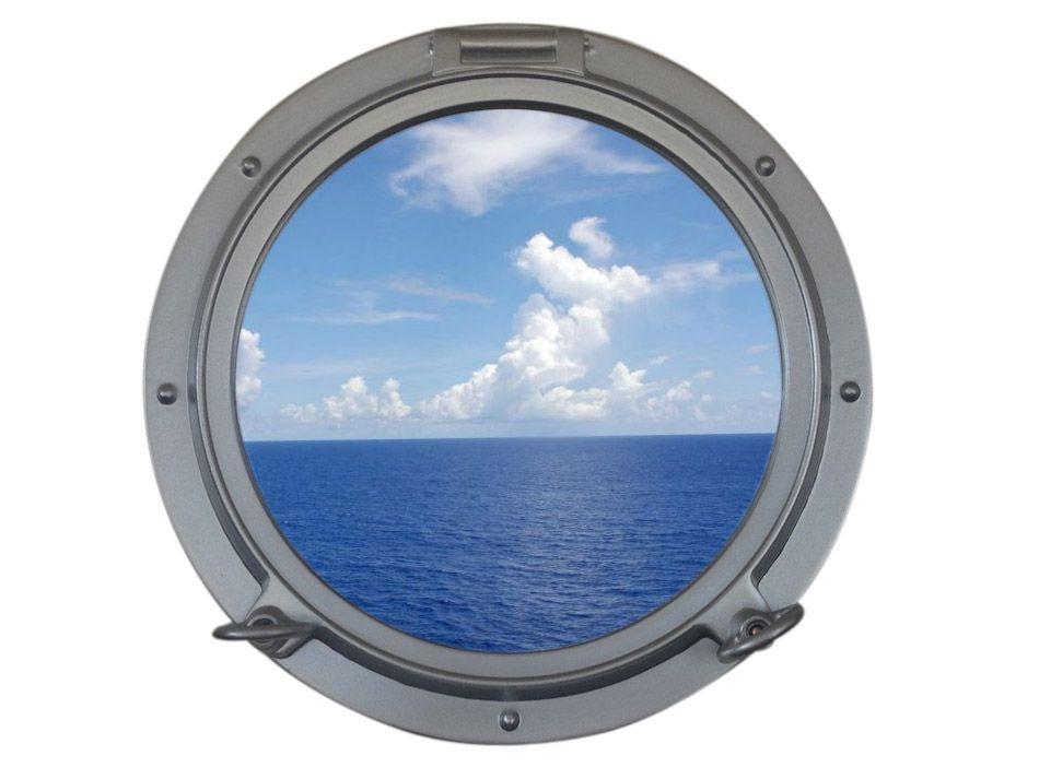 Buy Silver Decorative Ship Porthole Window 15in Model Ships