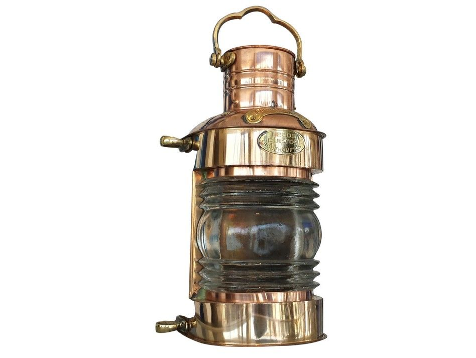 Buy Copper Lookout Oil Lamp 14 Inch Nautical Decorating
